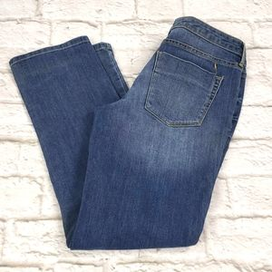 Mossimo Mid-rise Straight Jeans size 6s